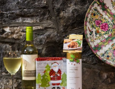 Picture of Christmas Hamper A Quiet Supper