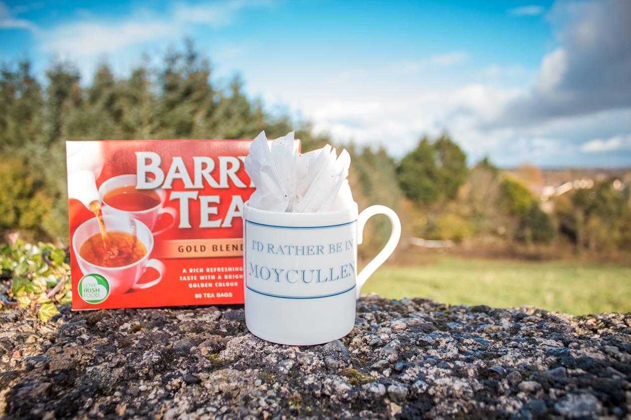 Mug and Barrys tea bags