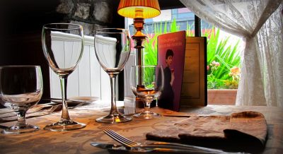 enjoy 2 courses from our set menu with glass of fizz and bailey's tipple for €35 pp