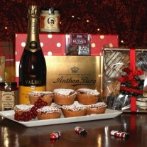Christmas Bubbles Christmas Hamper from White Gables Galway