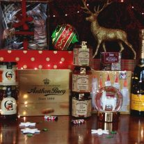 Christmas Gold Christmas Hamper from White Gables Galway