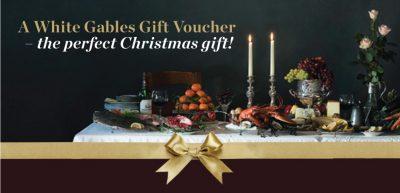 White Gables Christmas Slider for Vouchers