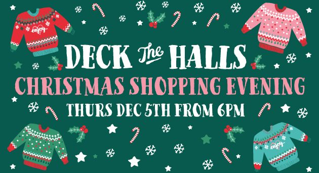 DecktheHalls-Christmas Event @ Enjoy from White Gables