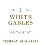 White Gables 29 Years Logo