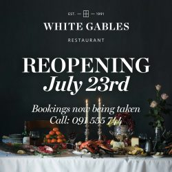 White Gables Re-opening
